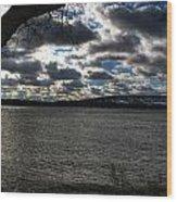 001 Grand Island Bridge Series Wood Print