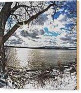 005 Grand Island Bridge Series Wood Print