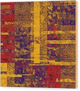 0161 Abstract Thought Wood Print