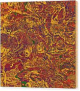 0202 Abstract Thought Wood Print