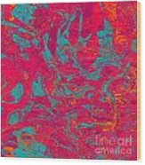 0217 Abstract Thought Wood Print
