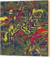 0399 Abstract Thought Wood Print