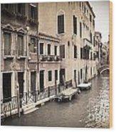0502 Venice Italy Wood Print
