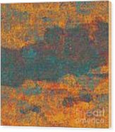 0510 Abstract Thought Wood Print