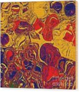 0576 Abstract Thought Wood Print