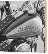 110th Anniversary Harley Davidson Wood Print