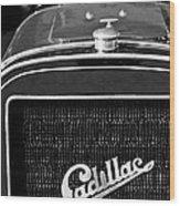 1907 Cadillac Model M Touring Grille Emblem Wood Print