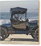 1915 Ford Model T Roadster Wood Print