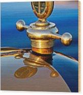 1922 Studebaker Touring Hood Ornament 3 Wood Print