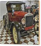 1926 Ford Model T Roadster Wood Print