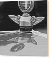 1927 Chandler 4-door Hood Ornament Wood Print