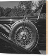 1929 Duesenberg Model J Covertible Coupe By Murphy Wood Print