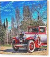 1929 Graham-paige Roadster Wood Print