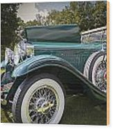 1929 Isotta Fraschini Tipo 8a Convertible Sedan Wood Print