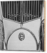 1930 Cord L-29 Speedster Grille Emblem Wood Print
