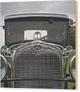 1930 Ford Model A Wood Print