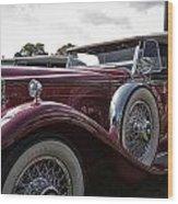 1930 Packard Model 734 Speedster Runabout Wood Print