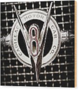 1931 Cadillac Emblem Wood Print