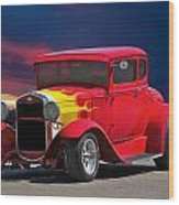 1931 Ford 'model A' Coupe Wood Print