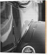 1932 Auburn Twelve Custom Phaeton Taillight Emblem Wood Print
