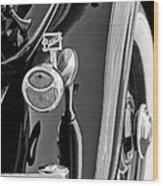 1932 Buick Series 60 Phaeton Taillight Wood Print