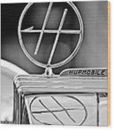 1932 Hupmobile Custom Roadster Hood Ornament Wood Print