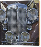 1933 Chrysler Imperial - Cl Phaeton Wood Print