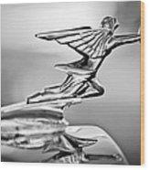 1934 Packard 8 1101 Sedan Hood Ornament Wood Print