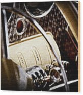 1937 Cord 812 Phaeton Controls Wood Print