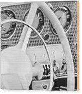 1937 Cord 812 Phaeton Dashboard Instruments Wood Print