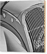 1937 Peugeot 402 Darl'mat Legere Special Sport Roadster Recreation Grille Emblem Wood Print