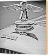 1937 Railton Rippon Brothers Special Limousine Hood Ornament Wood Print