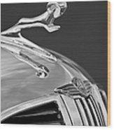 1938 Dodge Hood Ornament Wood Print