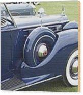1938 Packard Wood Print