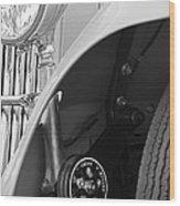 1939 Aston Martin 15-98 Abbey Coachworks Swb Sports Suspension Control Wood Print