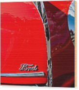 1939 Ford Grille Wood Print