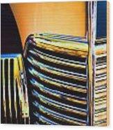1939 Studebaker Champion Grille Wood Print