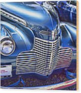 1940 Chevy Grill Wood Print