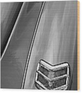 1940 Ford Deluxe Coupe Taillight Wood Print