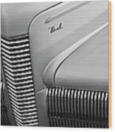 1940 Nash Grille Wood Print