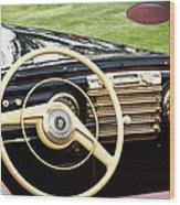 1942 Lincoln Wood Print