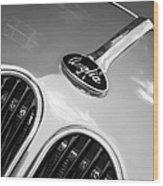 1948 Anglia Grille Emblem -510c Wood Print