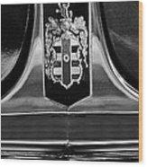 1948 Dodge D24 Club Coupe Emblem Wood Print by Jill Reger