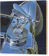 1948 Mg Hood Ornament Wood Print