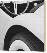 1950 Eddie Rochester Anderson Emil Diedt Roadster Steering Wheel Wood Print