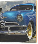 1950 Ford Automobile Wood Print