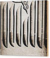 1951 Mercury Custom Emblem Wood Print