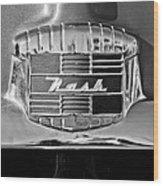 1951 Nash Emblem Wood Print