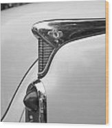 1952 Buick Eight Tail Light Wood Print
