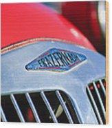 1952 Frazer-nash Le Mans Replica Mkii Competition Model Grille Emblem Wood Print
